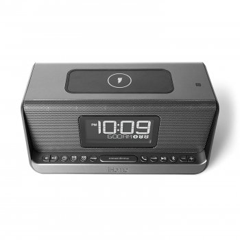 iHome IBN350G, Qi Wireless Charging, BT, NFC, USB, Aux Mic