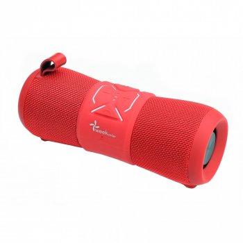 Портативна акустична водонепроникна Bluetooth колонка бумбокс WEEKENDER F2 RED 12Вт