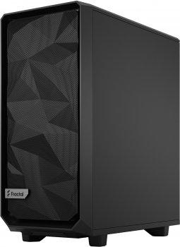 Корпус Fractal Design Meshify 2 Compact Dark Tempered Glass Black (FD-C-MES2C-02)