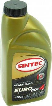 Тормозная жидкость (Sintec) EURO DOT-4 0.45л. 800772