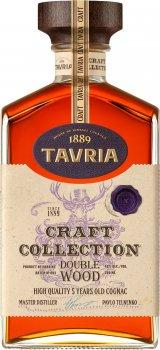 Бренди Tavria Craft Collection Double Wood 5 лет выдержки 0.5 л 40% (4820000626248)