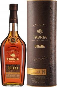 Бренді Tavria Oriana 8 років витримки 0.5 л 40% (4820000620437)