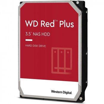 Жесткий диск 3.5 Western Digital Red Plus 6Tb (WD60EFZX)