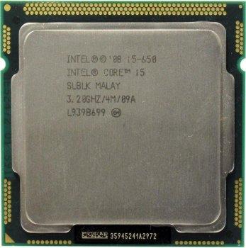 Процессор Intel Core i5-650 socket 1156 б/у