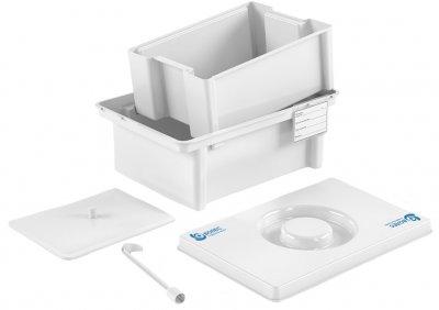 Контейнер полимерный Волес для дезинфекции и предстерилизационной обработки медицинских изделий ЕДПО-10-02 (503962)