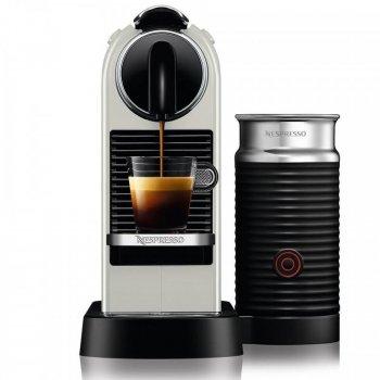 Кофемашина Nespresso D123 CitiZ&Milk Biały