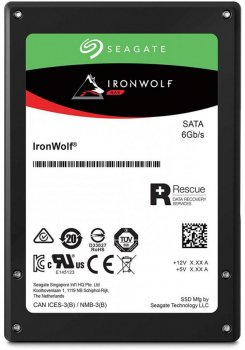 "Seagate IronWolf SSD 240GB 2.5"" SATAIII 3D TLC (ZA240NM10011)"