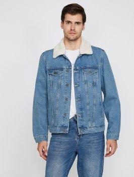 Куртка Koton 0KAM53005LD-600 Blue