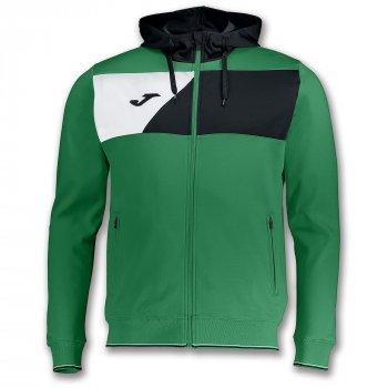 Олімпійка (спортивка) Joma CREW II зелено-чорна 100615.451