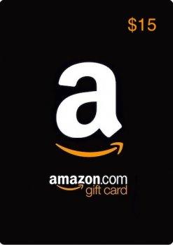 Amazon Gift Card 15 USD, (US-регион)