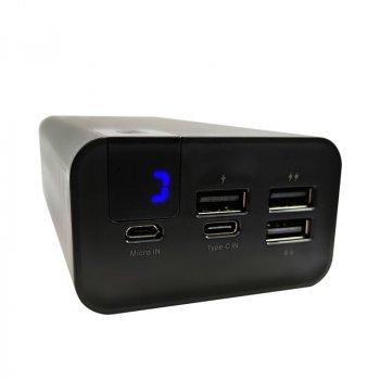 Зовнішній Акумулятор (Power Bank) Konfulon A19, 2.4A Fast Charge 30000 mAh (Чорний)