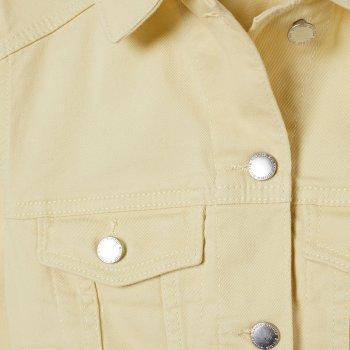 Джинсовая куртка H&M 06-0713533-009 Желтая