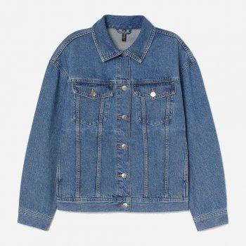Джинсовая куртка H&M 0829643-1 Синяя