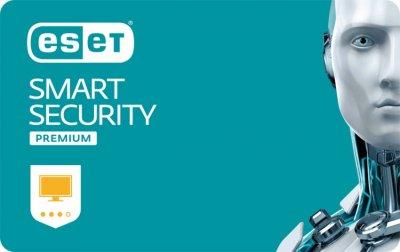 Антивирус ESET Smart Security Premium (1 ПК) лицензия на 1 год, базовая (ESSP-N-1Y)