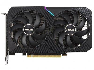 Видеокарта Asus, GeForce RTX 3060, DUAL, 12Gb GDDR6, 192-bit, HDMI/3xDP, 1807/15000 MHz, 8-pin (DUAL-RTX3060-12G)