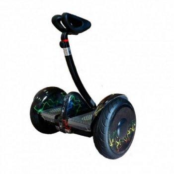 """Мини сигвей 10.5"""" 1600W Ninebot Mini Robot 54V 5700 мАч (Цветные молнии)"""