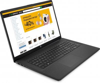 Ноутбук HP Laptop 17-cp0019ua (423M3EA) Black