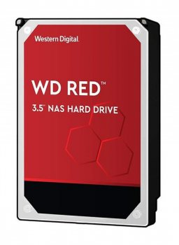 """Жесткий диск WD 3.5"""" SATA 3.0 6TB 5400 256MB Red NAS (WD60EFAX)"""