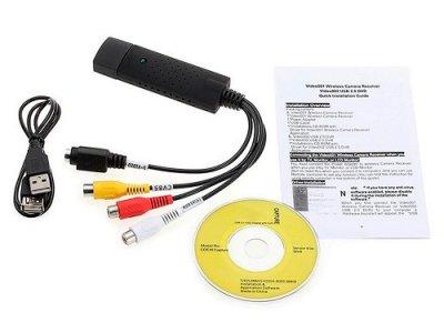 USB карта видеозахвата Kuyia EasierCap UTV008, оцифровка (116239)