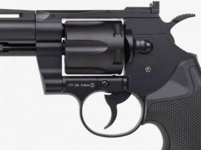 Пневматичний Револьвер Diana Raptor. Довжина стовбура - 6 дюймів