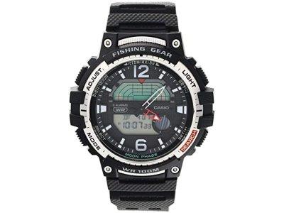 Чоловічі годинники Casio WSC-1250H-1AVCF для риболовлі