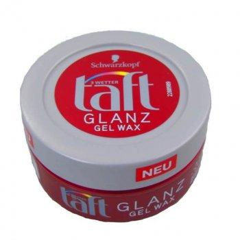 Гель-віск для волосся Taft Glanz Wax 75 мл