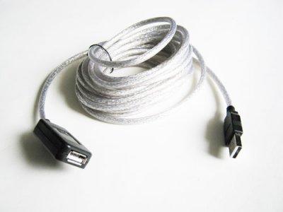 5м подовжувач USB 2.0 Kuyia активний репітер (110180)