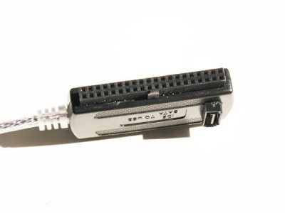 Переходник Kuyia USB SATA, IDE, 2.5 3.5 (с БП) (110040)