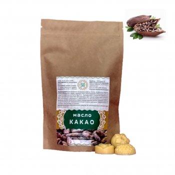 Масло какао-бобов Ecoliya 100 гр RAW