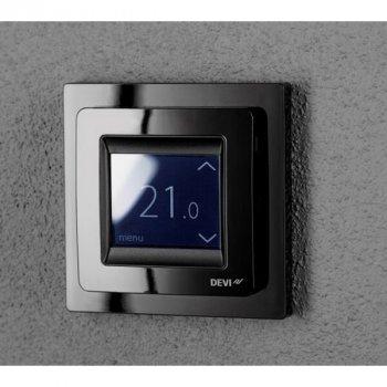 Терморегулятор DeviReg Touch Чорний