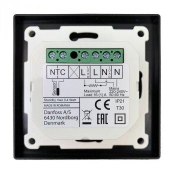 Терморегулятор Devireg Smart Wi-Fi Чорний