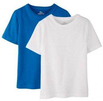 Футболка Pepperts ld011100002 2 шт Бело-синяя
