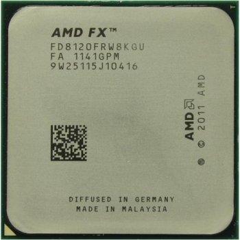 Процессор AMD FX 8120 (FD8120FRGUBOX), б/в