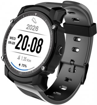 Смарт-годинник Kingwear FS08 з GPS Чорний