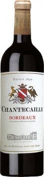 Вино GVG Chantecaille Bordeaux Rouge красное сухое 0.75 л 12.5% (3429670409024_3429671645766)
