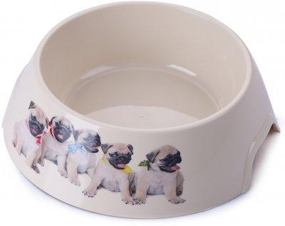 Миска пластикова для собак P 1117-PP-B6 з принтом L 0.7 л (2000981121457)