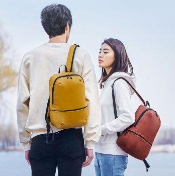 "Рюкзак для ноутбука Xiaomi Z Bag Ultra Light Portable Mini Backpack 14"" Yellow (6971941370542)"