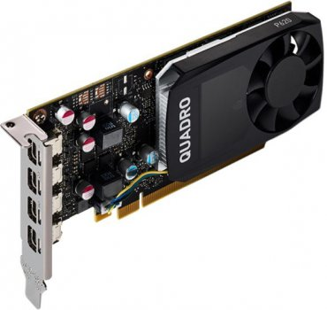 Відеокарта PNY NVIDIA Quadro P620V2 2GB GDDR3 (128bit) (1354/4012) (4 x miniDisplayPort) (VCQP620V2-SB)