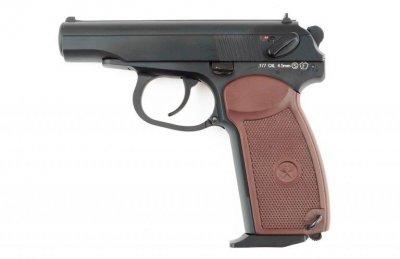 Пневматичний пістолет KWC KMB 44AHN Makarov Blowback ( Макаров ПМ )