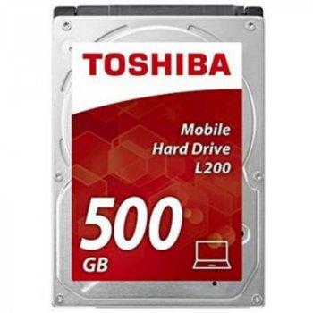 Жесткий диск для ноутбука 2.5 дюйма 500GB TOSHIBA (HDWK105UZSVA)