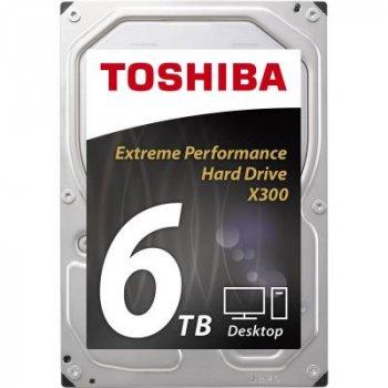 Жесткий диск 3.5 дюйма 6TB TOSHIBA (HDWE160UZSVA)