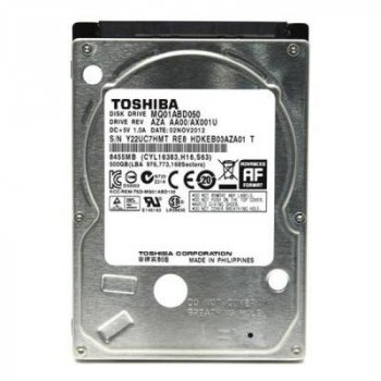 Жесткий диск для ноутбука 2.5 дюйма 500GB TOSHIBA (# MQ01ABD050 #)