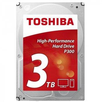 Жесткий диск 3.5 дюйма 3TB TOSHIBA (HDWD130UZSVA)