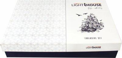 Комплект постельного белья LightHouse Exclusive Sateen Stripe Lux 200х220 (2200000550224)