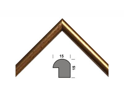Рамка для дипломів 33.Amigos 21x30 см Золотиста (KF2130GL)