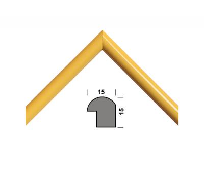 Рамка для дипломів 33.Amigos 21x30 см Жовта (KF2130YL)