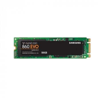 Samsung 860 Evo-Series 500GB M.2 SATA III V-NAND TLC (MZ-N6E500BW)