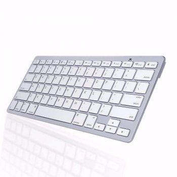 Бездротова блютуз клавіатура SmartKey X5 біла