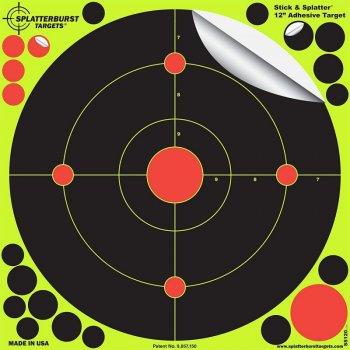 Мішень для стрільби флюрисцентная Splatterburst Велике коло 20 см (8 дюймів)