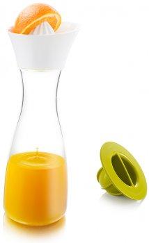 Графин Tomorrow's Kitchen Citrus Carafe Juicer & Squeezer із соковичавницею 30 см (4760260)